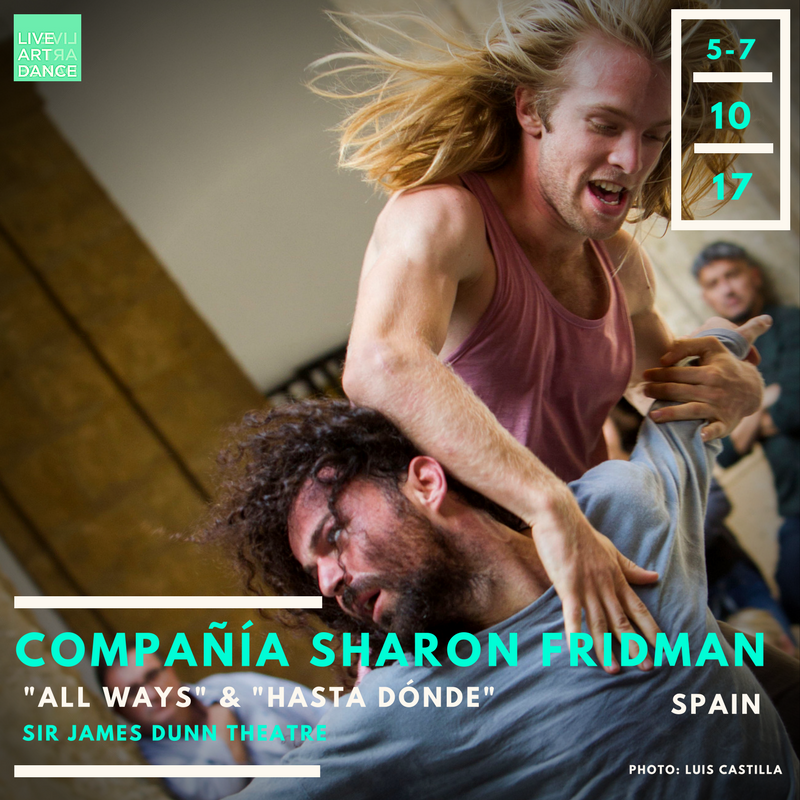 Haunting, beautiful, human, unique – all words that begin to describe the work of Compañía Sharon Fridman. This remarkable contact-dance based company from Madrid - led by award winning Israeli choreographer, Sharon Fridman - has toured Europe and Asia extensively. With their roster of 7 dancers and a live musician, we're thrilled that they are beginning their first North American tour here in Halifax, providing us with the rare opportunity to see this engaging European company.