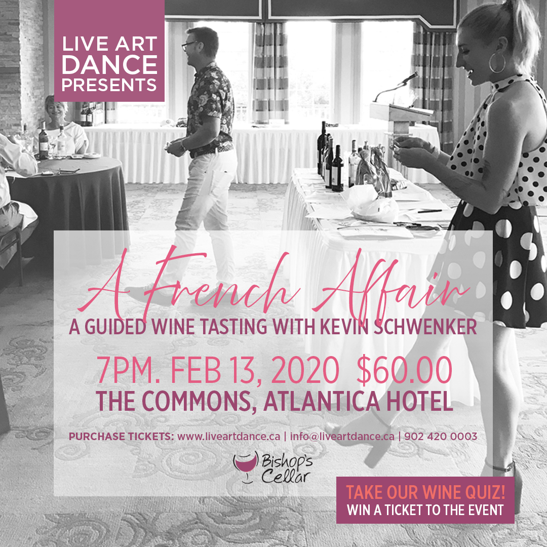 A French Affair - Wine Tasting Graphic