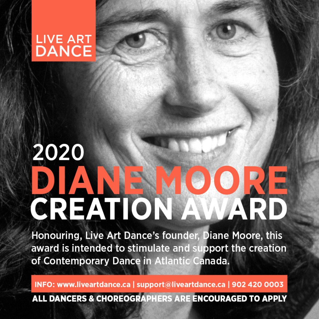 Dianne Moore Creation Award Graphic